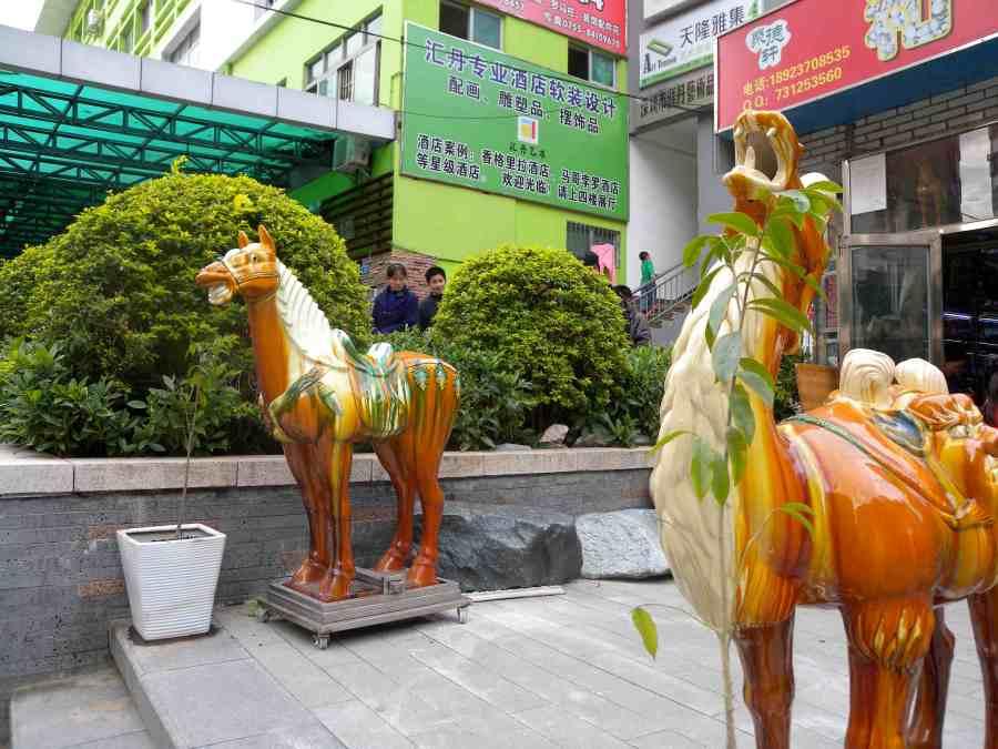shenzhen ceramic horses