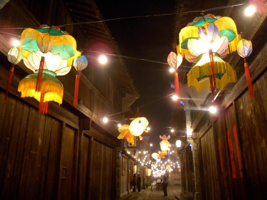 lunar new year lanterns