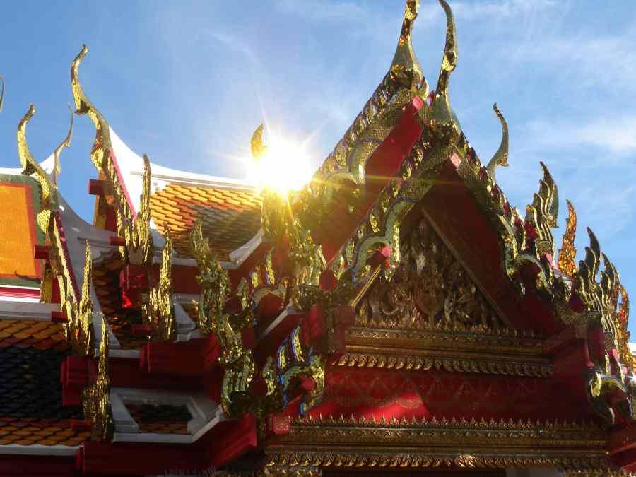 glittering temple