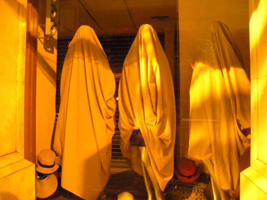 spooky shop mannequins