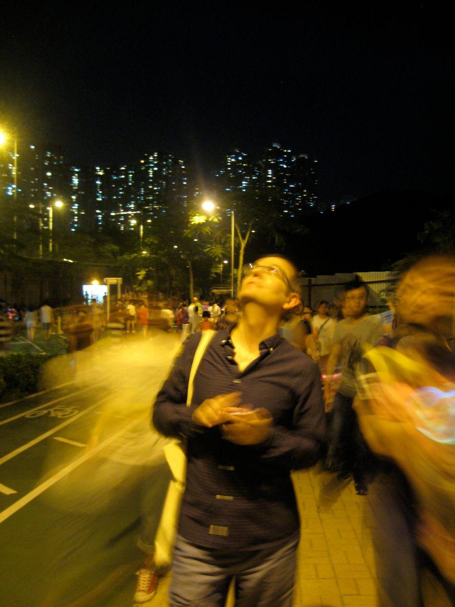 Hang Hau on the night