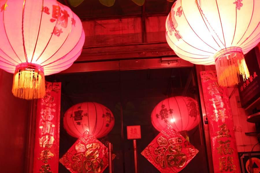 NY lanterns